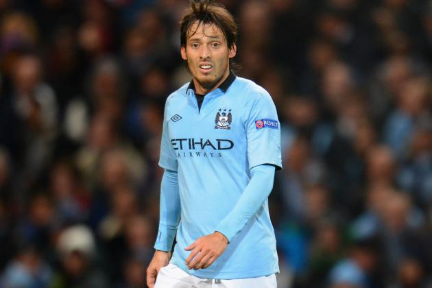 Injured David Silva Could Miss Manchester Derby