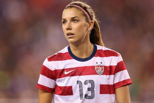 Alex Morgan Wins U.S. Soccer Federation's Female Athlete of Year