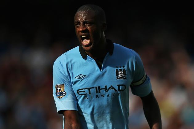 Manchester City Without Yaya Toure for Borussia Dortmund Game