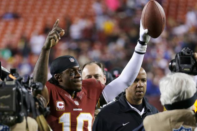 Robert Griffin III Continues to Fuel Washington's Late-Season Resurgence
