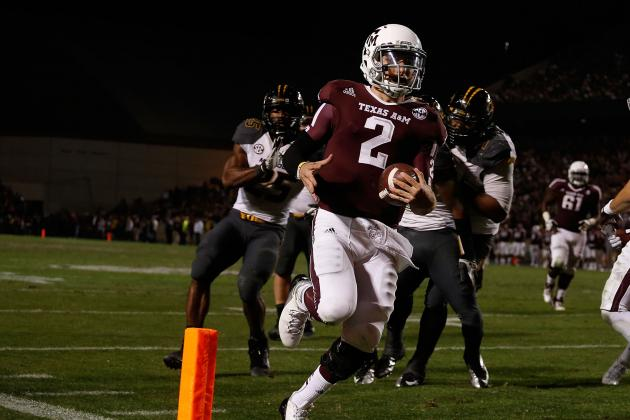 Johnny Football Is Mr. SEC After Dynamic Debut