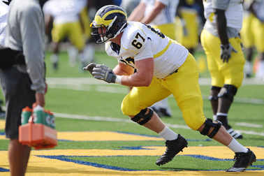 DL Nathan Brink's Michigan Career Is over Due to Injury