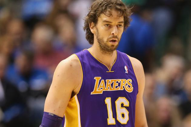 Gasol out Tonight vs. Rockets Due to Tendonitis