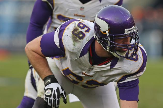 MRI Negative on Vikings End Jared Allen, Who Should Play on Sunday