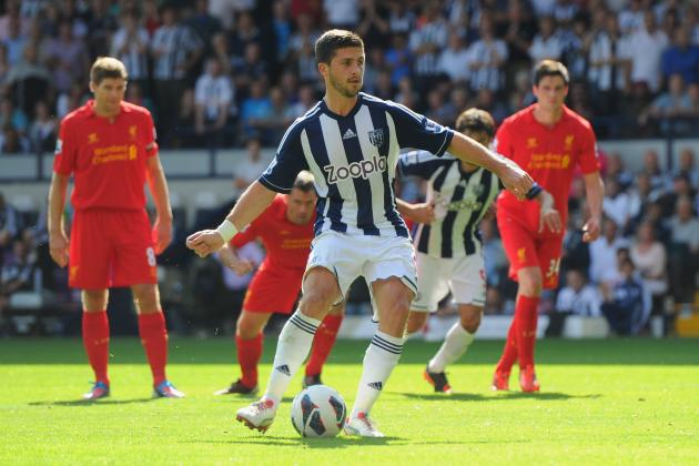 Liverpool Transfer News: Reds Should Not Waste Time on West Brom's Shane Long