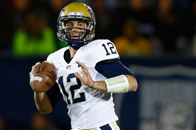 Senior Quarterback Sunseri Thinks Pitt Football's Future Bright