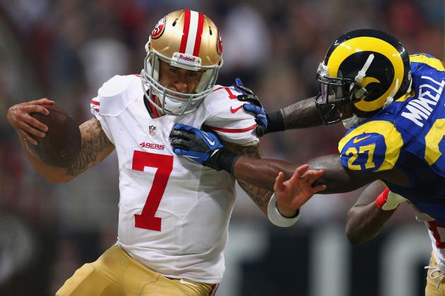 Colin Kaepernick: Breaking Down How Rams Defense Flustered 49ers QB