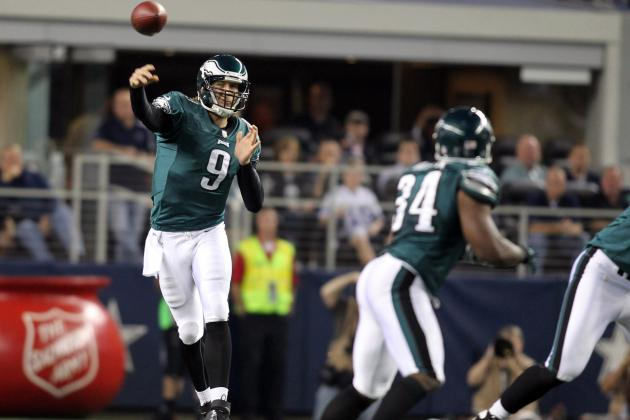 Nick Foles, Bryce Brown Take Large Steps Toward Becoming Keys Cogs in Philly