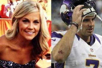 Samantha Steele Engaged To Christian Ponder