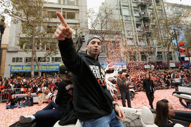 Giants in Lead for Marco Scutaro