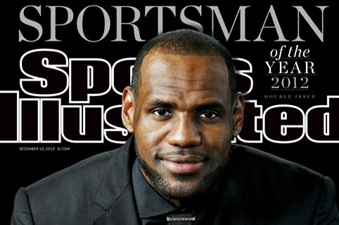 Grading the LeBron James SI Sportsman of the Year Photo