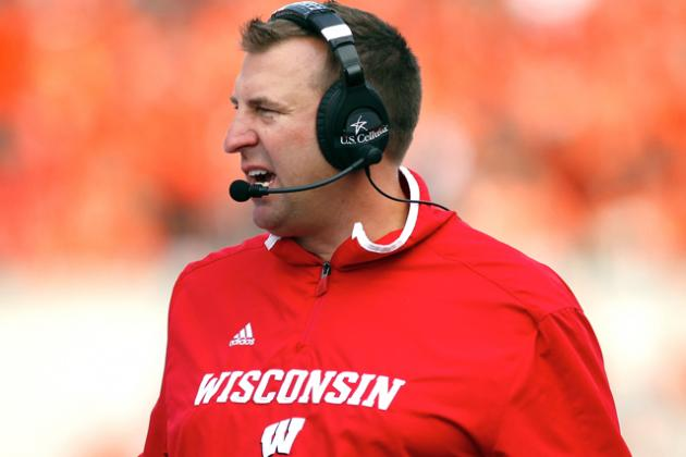 Wisconsin HC Bret Bielema Reportedly Agrees to Coach Arkansas