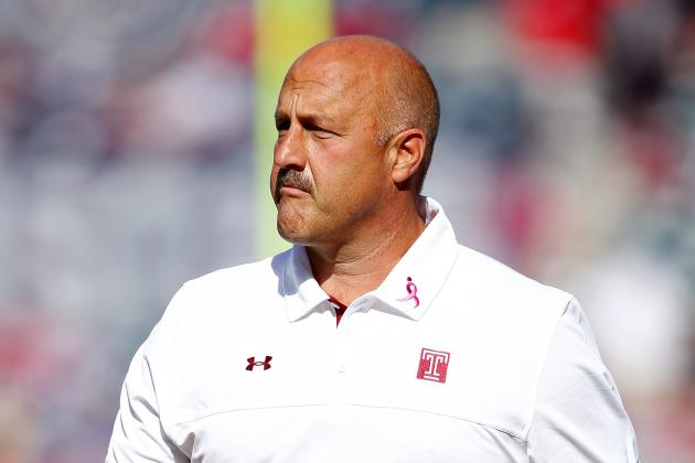Boston College Hires Temple's Steve Addazio