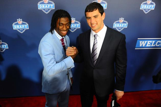 RG3 vs. Andrew Luck: Who Is the Rookie of the Year Heading into Week 14?