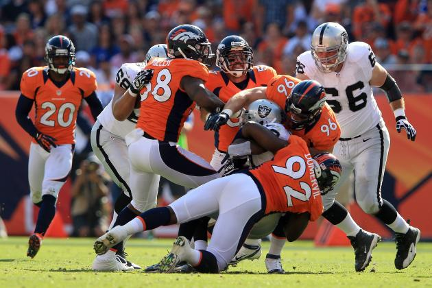 Broncos vs. Raiders: TV Schedule, Live Stream, Spread, Radio, Game Time and More