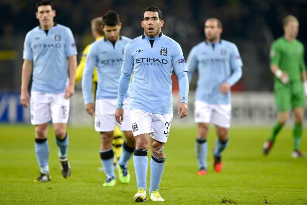 Manchester City Crash out of Europe After Loss to Borussia Dortmund