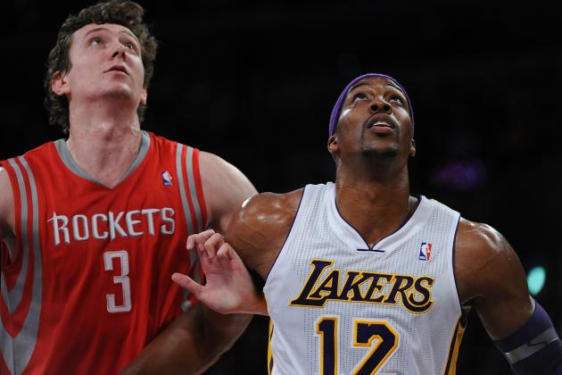 Los Angeles Lakers vs. Houston Rockets: Live Score, Results and Game Highlights