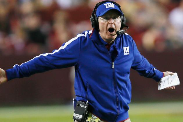Tom Coughlin Says the Giants Have to Win Their Remaining Four Games