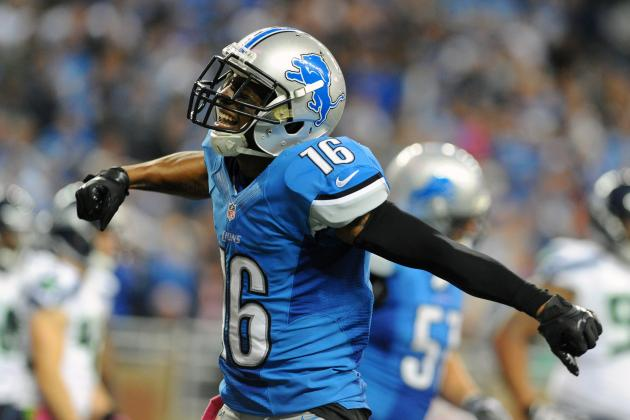 Lions Place Titus Young on Injured Reserve