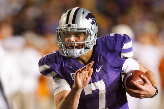 Kansas State QB Collin Klein Wins 2012 Johnny Unitas Golden Arm Award