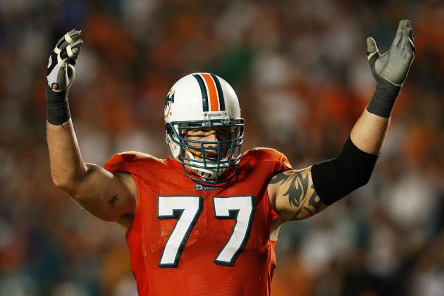 Jake Long: Dolphins LT Hits IR with Injured Triceps
