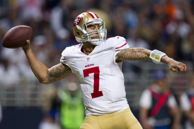 Colin Kaepernick: 49ers QB Is Dangerous Fantasy Option vs. Dolphins in Week 14