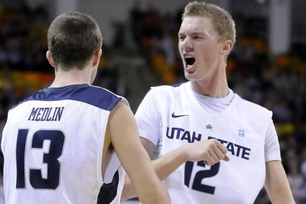 USU Basketball Player Collapses