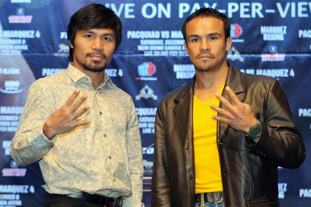 Pacquiao vs. Marquez Predictions: Projecting Punches Landed for Each Fighter