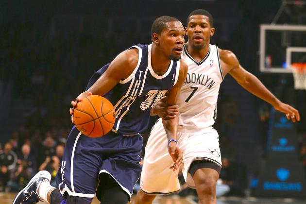 Oklahoma City Thunder vs. Brooklyn Nets: Live Score, Results and Game Highlights