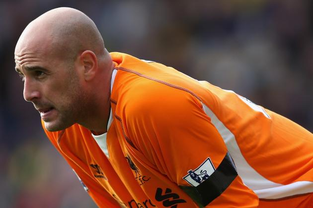 Exclusive: Reina on Way out of Liverpool as Rodgers Eyes Butland