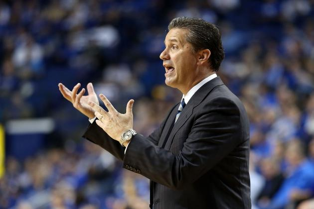 Kentucky Basketball: Coach Calipari Upset at Team's Lack of Conditioning