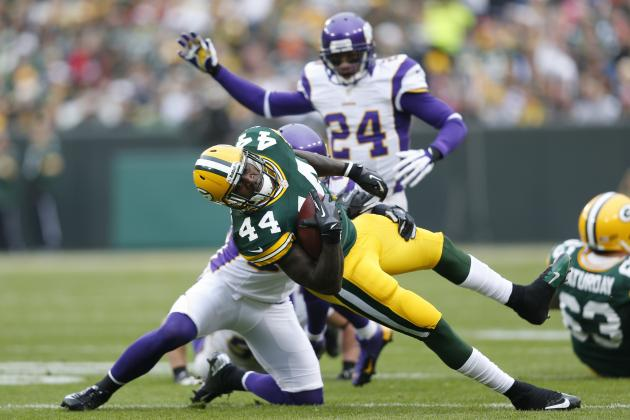 James Starks Injury Update: Time for the Packers to Call Ryan Grant