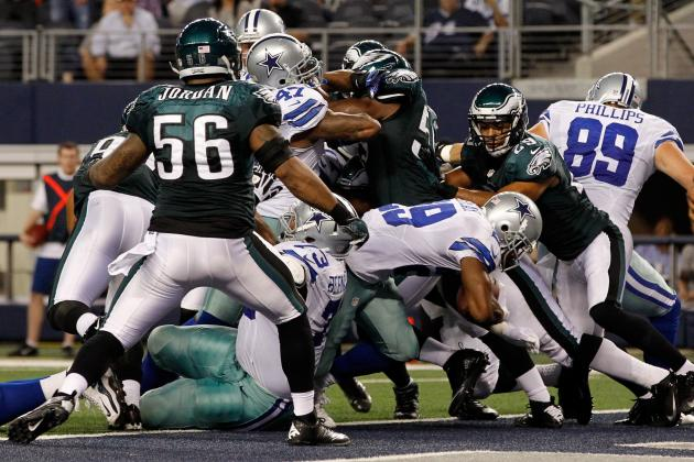 Breaking Down DeMarco Murray's First Game Back from Injury