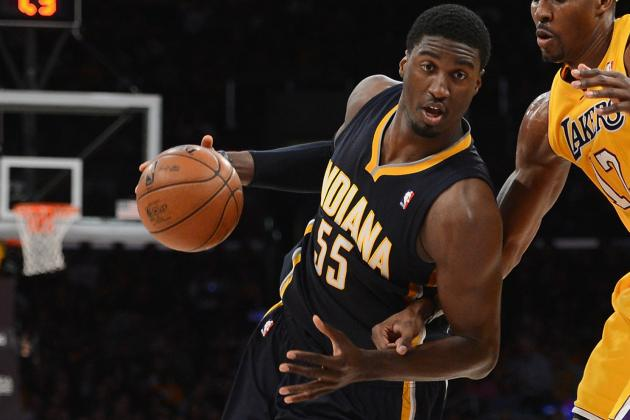 Hibbert Can't Score, but He's Defending at a High Level
