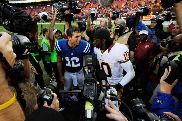 Andrew Luck Outclasses Robert Griffin III and Russell Wilson in the Clutch