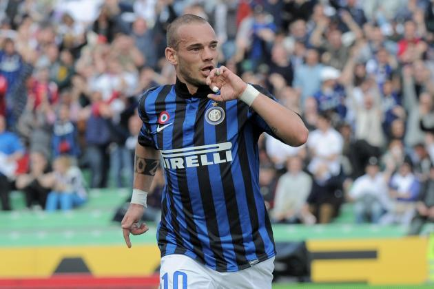 Breaking Down What Makes Inter Milan Star Wesley Sneijder Special