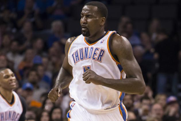 Kendrick Perkins Soothes Egos, Resolves Issues in Thunder Locker Room