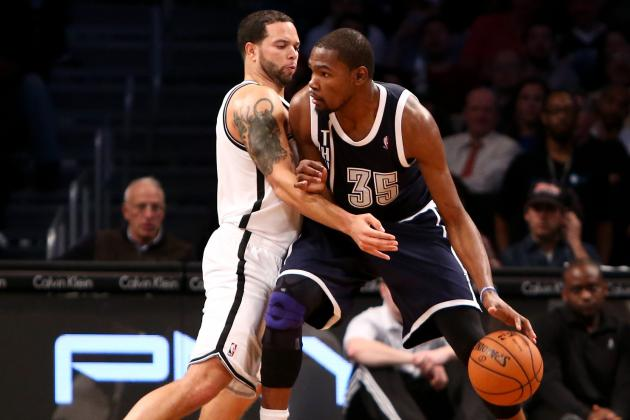 Kevin Durant Wins NBA Player of the Night After Dominating Brooklyn Nets