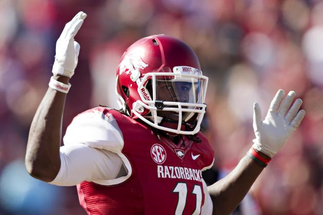 Four Razorbacks Voted All-SEC