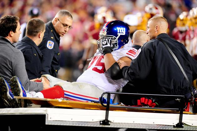 New York Giants Lose Sean Locklear, and More NFC East News