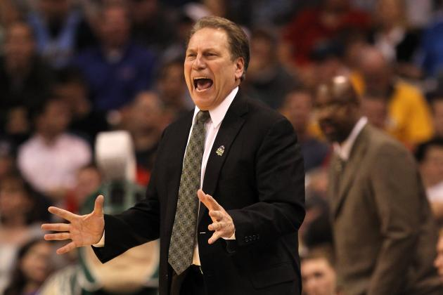 Tom Izzo Attends Season Openers for Top 2014 Recruits