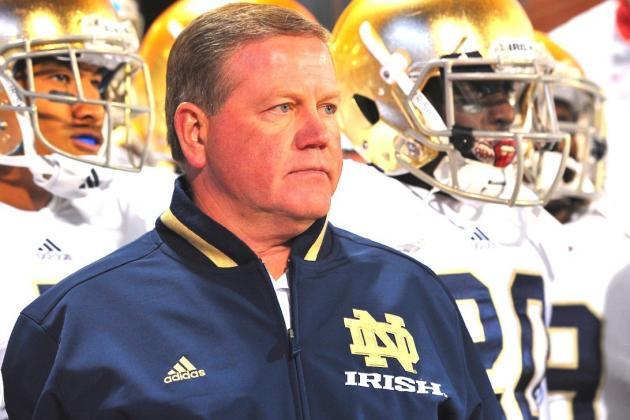 Notre Dame's Brian Kelly Wins Second Home Depot Coach of the Year Award