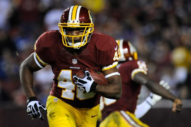 Alfred Morris Runs the Ball, Not His Mouth