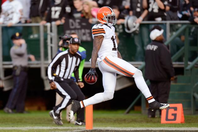Josh Gordon a Candidate for NFL Pepsi Max Rookie of the Week