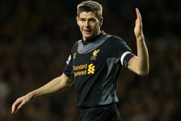 Gerrard out of Liverpool's Europa Decider