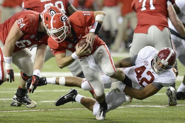 UGA-Bama Was Most-Watched TV Game of College Season