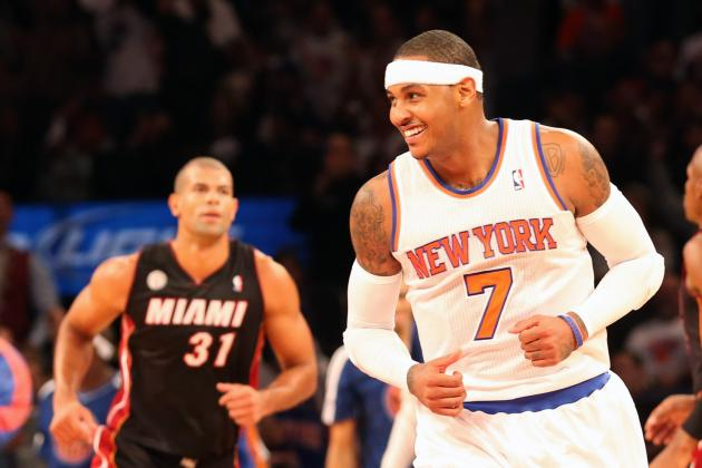 New York Knicks vs. Miami Heat Gives Fans Preview of Eastern Conference Finals
