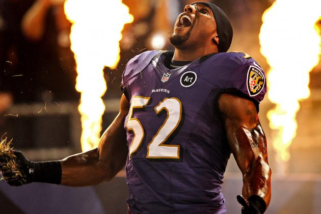 Ray Lewis Returns to Practice with Baltimore Ravens