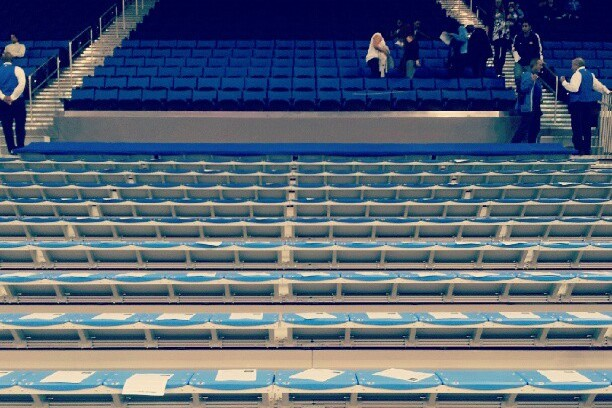 PHOTO: UCLA Student Basketball Fans Pull No-Show at Pauley