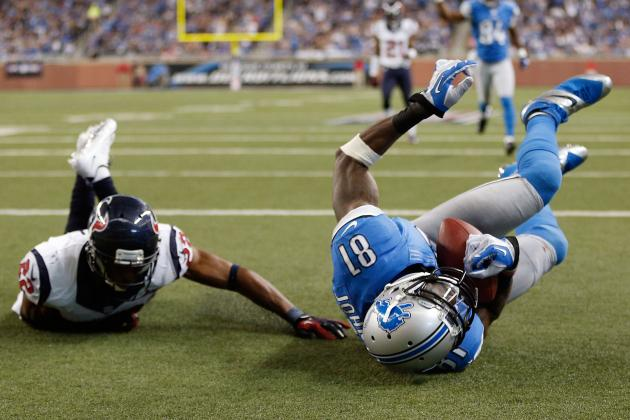 2012 Fantasy Football Revised Wide Receiver Rankings: NFL Week 14